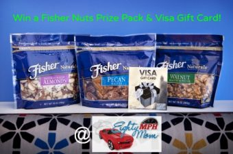 Put a Fresh Twist on Summer Recipes with Fisher Nuts – A Review, Recipe