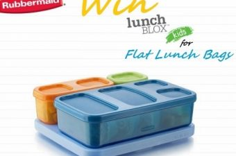 Get Lunch Organized with Rubbermaid LunchBlox Kids