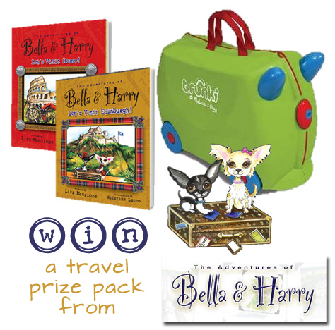 The Adventures of Bella & Harry {win a travel prize pack! ARV $73.89}