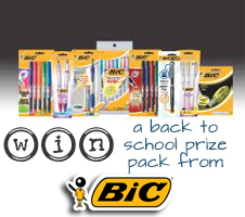 Back to School Supplies from BIC {Prize Pack Giveaway}