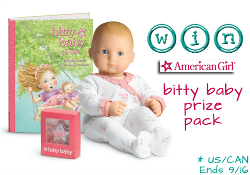 American Girl Bitty Baby Collection Review and Giveaway {ARV $80}