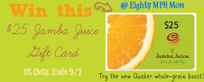Jamba Juice,giveaway,gift card