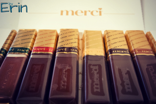 Merci Chocolates Celebrating Friends {with giveaway!}