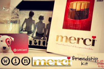 Merci Chocolates Celebrating Friends