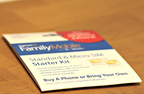 walmart family mobile,starter kit,micro SIM,phones,Unlimited Plans,#shop,