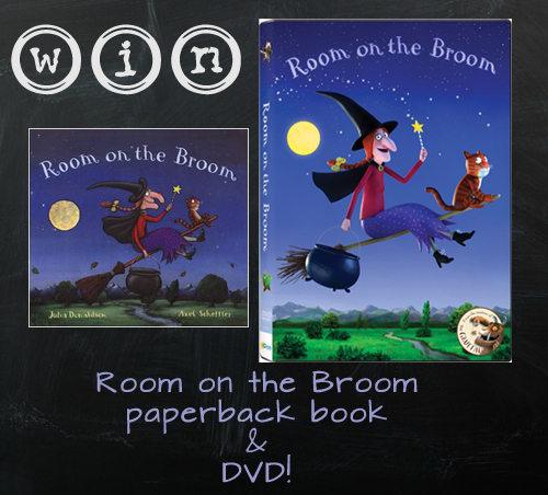 Room On The Broom Dvd Release Eighty Mph Mom Oregon