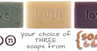 Soaps to Live By Review {win your choice of three bars!}