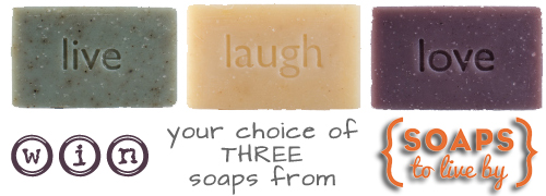 Soaps to Live By Review {win your choice of three bars}