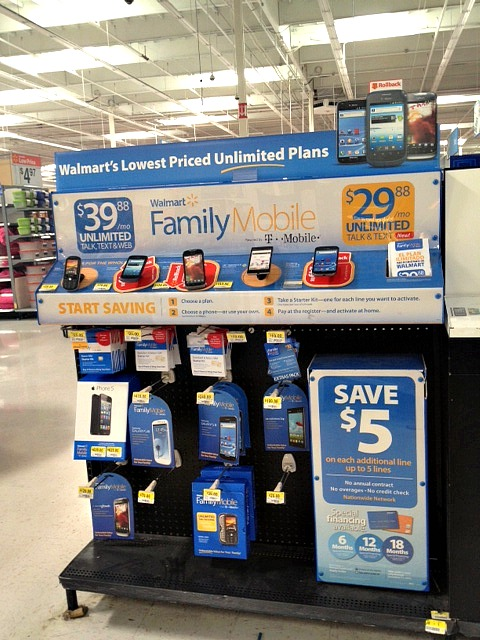 walmart family mobile,display,unlimited plans,#shop