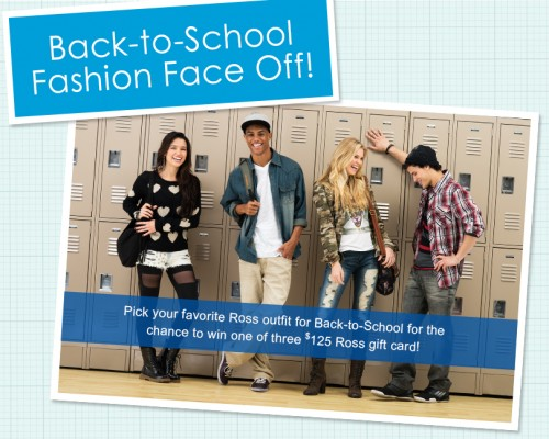 Back to School Shopping and Saving with Ross Dress for Less {$25 gift card giveaway}