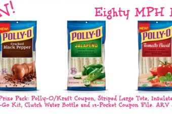 Polly-O String Cheese Snack On the Run!  Review and Giveaway~ARV $100