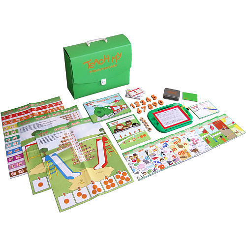 Teach My Preschooler Learning Kit