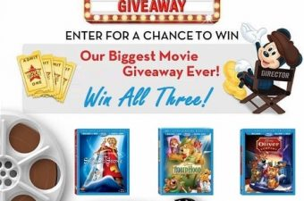 Relive the Classics with Disney Movies on DVD & Blu-ray – Review & Giveaway