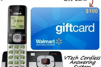 Walmart's Exclusive VTech Phone Review & $125 Value Giveaway