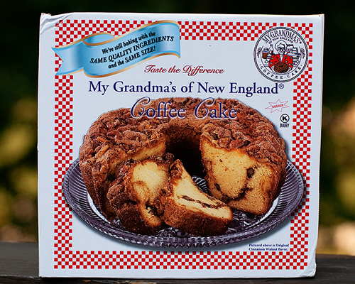 My Grandma's,coffee cake,Superior Nut Co.