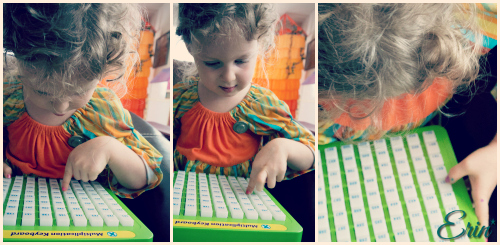 Reeves International Toys It all Adds Up Addition and Subtraction Keyboard & Multiplication Magic Review {giveaway ARV $36}