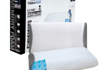 Therapedic,gel pillow,cooling