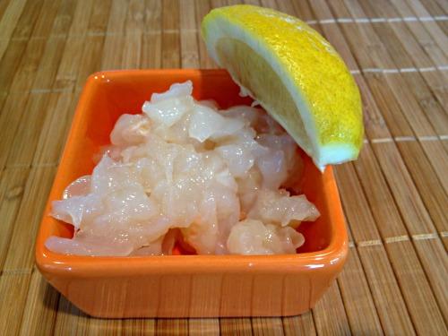 shrimp meat,chopped prawns