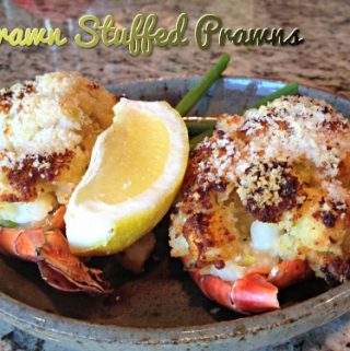 Stuffed Tiger Prawns,recipe,shellfish