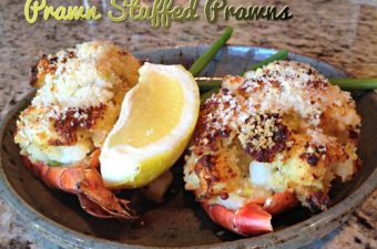 Stuffed Tiger Prawns Recipe