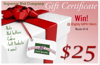 superior nut company,giveaway