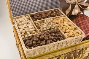 nut gift baskets online,Superior Nut Company