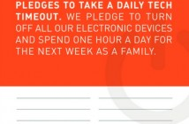 tech timeout,electronics,family,break