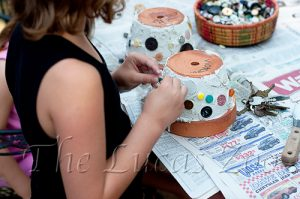 Flower Pot Craft,DIY,decor,gifts from kids