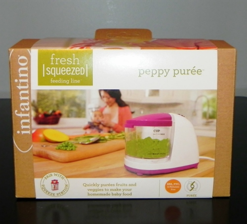 Infantino,fresh squeezed,peppy puree