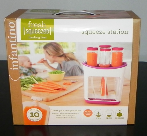 Infantino,Fresh Squeezed,feeding line,squeeze station