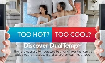 "Get a ""Cool"" Night's Sleep with Sleep Number's ""Hot,"" New Product – The DualTemp Layer"