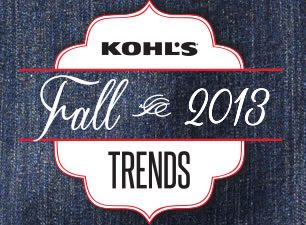 Fall into Fashion with Kohl's, A Fall 2013 Collection Review