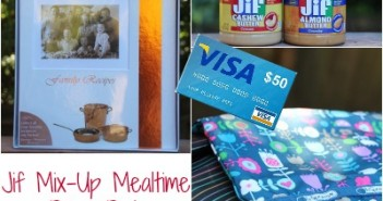Jif,Mix-Up Mealtime, Giveaway,Prize Pack