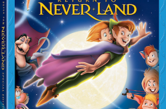 "Disney's ""Peter Pan Return to Never Land"" is Now Available on Blu-ray!"