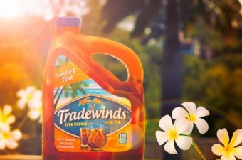 Get a Taste of Paradise with Tradewinds Slow Brewed Iced Tea