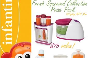 Infantino's Fresh Squeezed Baby Food System is Easy-Squeezie