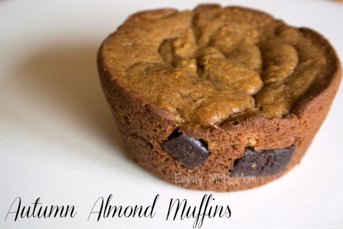 almond muffins,autumn,Jif butter