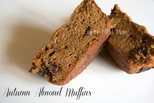 Jif nut butters,autumn almond muffins