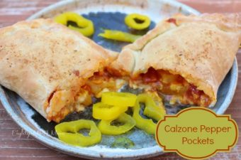 Lindsay Peppers from Lucky Supermarkets – Calzone Pepper Pockets Recipe