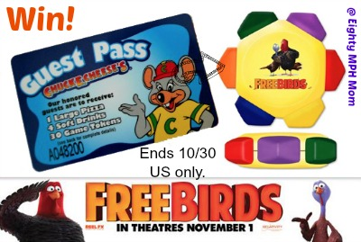 free birds,prize pack,giveaway,movie