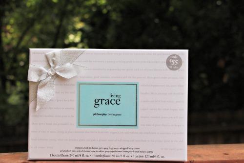 philosophy,living grace,gift set,