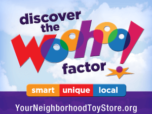 Neighborhood Toy Store Day is November 9th!