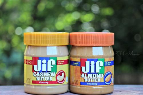 Jif,almond butter,cashew butters
