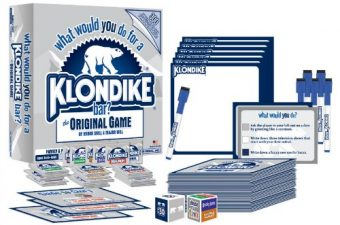 what would you do for a klondike bar,board game,contents