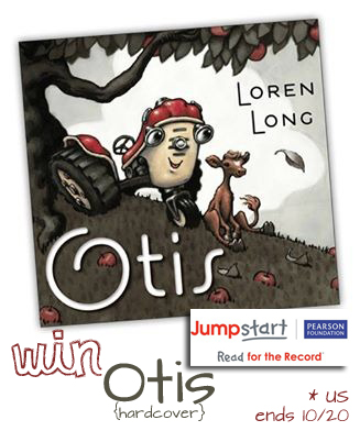 Read for the Record with Jumpstart! {and win Otis ARV $17.99}