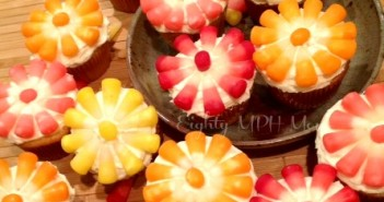 starburst,candy corn,cupcakes