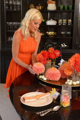 starburst candy corn,halloween,decor,tori spelling