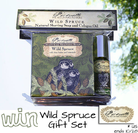 Pirouette Men's Wild Spruce Gift Set Review {and giveaway! ARV $33}