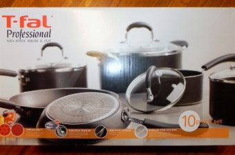 T-Fal Professional Non-Stick 10 Piece Cookware Review