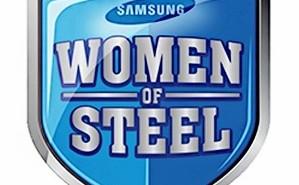Samsung Women of Steel Logo